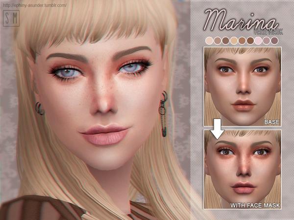 Marina Face Mask By Screaming Mustard