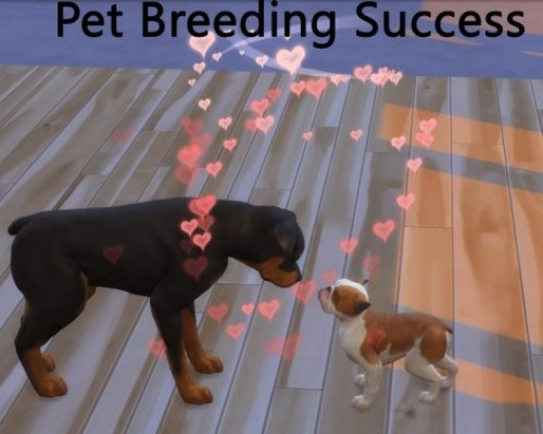 Pet Breeding Success by pd1ds