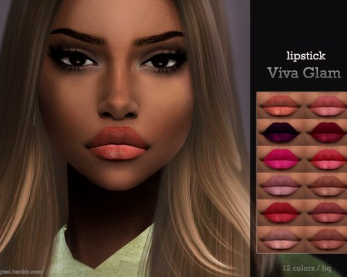 Viva Glam lipstick by ANGISSI
