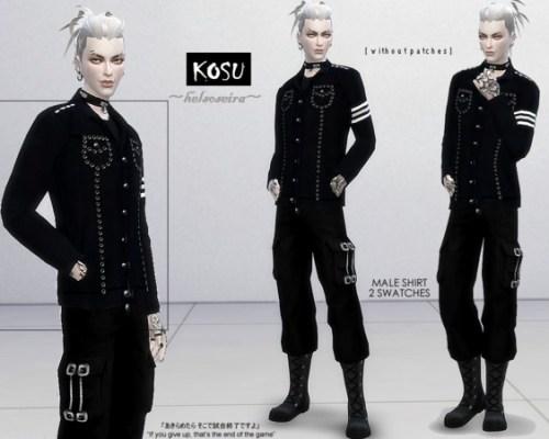 KOSU Male Shirt by Helsoseira