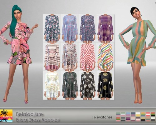 Erica Dress Recolor by Elfdor