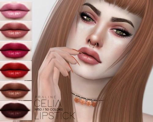 Celia Lipstick N150 by Pralinesims