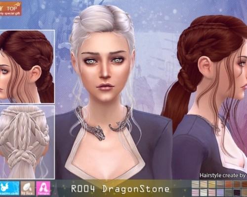 R004 DragonStone hair (Pay)