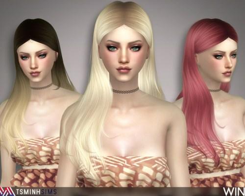 Wind Hair 48 by TsminhSims