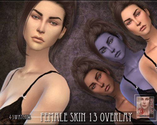 Female skin 13 OVERLAY by RemusSirion