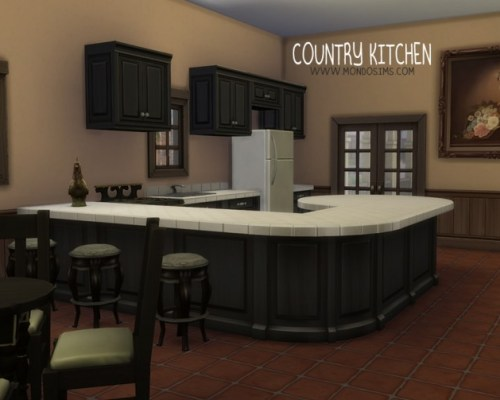 Country Kitchen by Simone