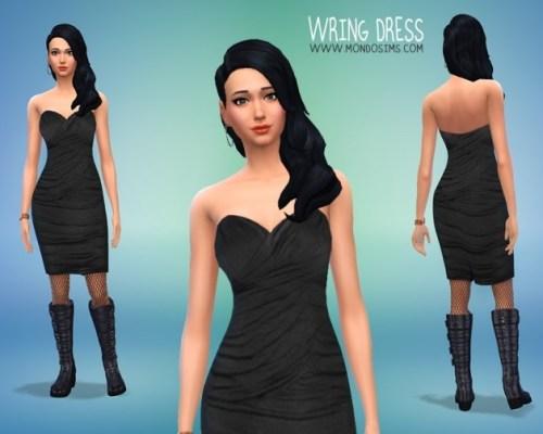 Wring Dress by Simone