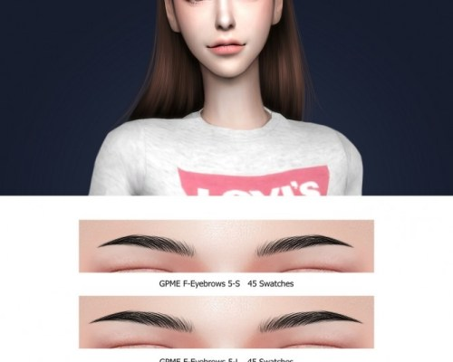 GPME F-Eyebrows 5-S & 5-L