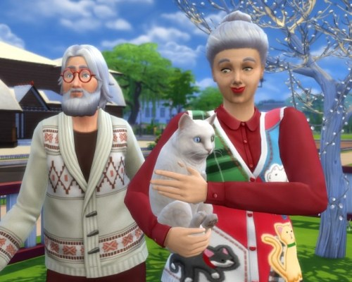 Santa Clause and mrs. Clause by Nuttchi