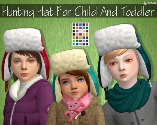 Hunting Hat for Child and Toddler