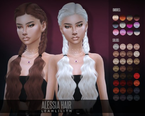 Alessia Hair by Leah Lillith