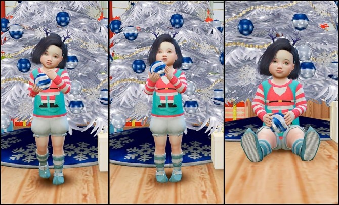 My First Christmas Poses