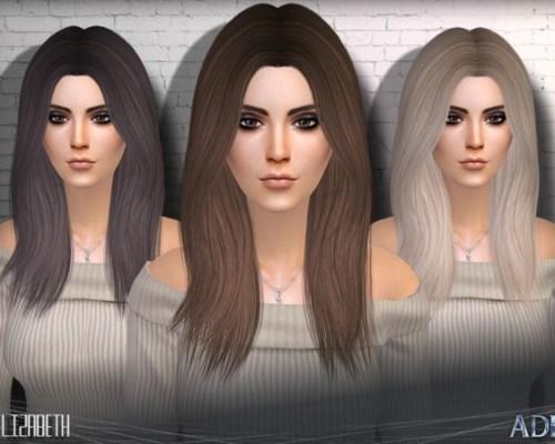 Elizabeth hair by Ade_Darma