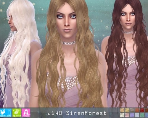 J140 SirenForest hair (Pay)