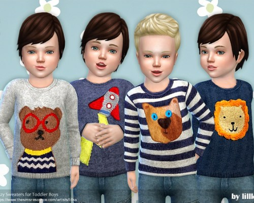Cozy Sweaters for Little Boys by lillka