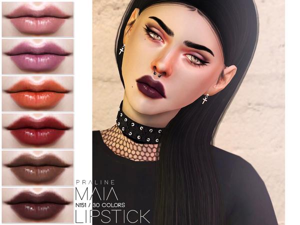 Maia Lipstick N151 By Pralinesims