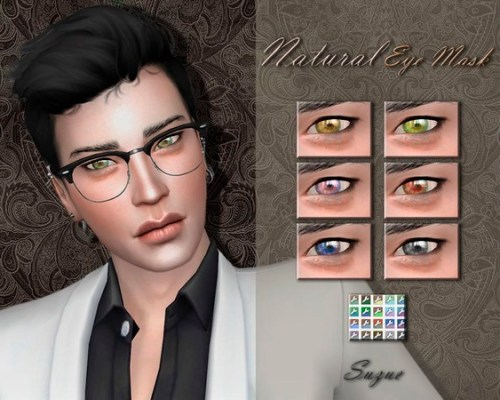 Natural Eye Mask N3 by Suzue