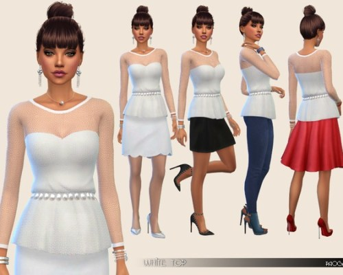 White Top by Paogae