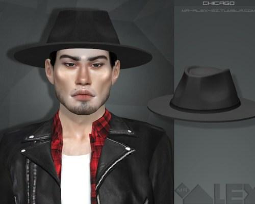 Chicago hat by Mr.Alex
