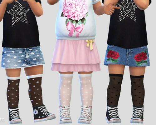 Toddler Socks 02 by Pinkzombiecupcakes