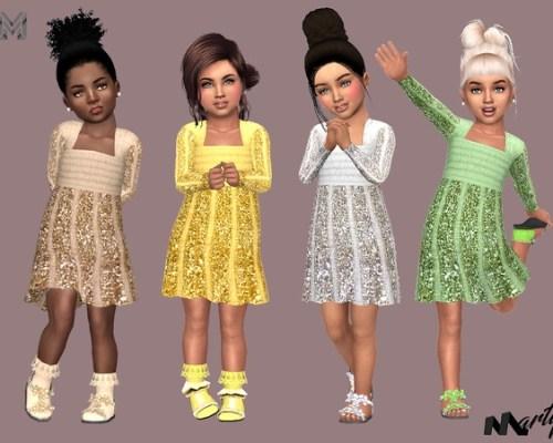 Glitter Dress T by MartyP