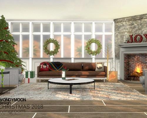 Christmas 2018 Livingroom by wondymoon