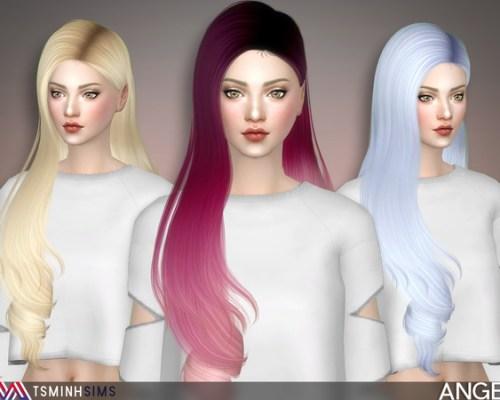 Angel Hair 49 by TsminhSims