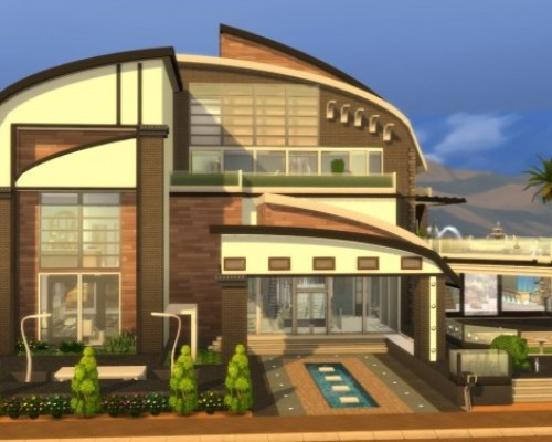 Butterfly Mansion noCC Modern by norenegonc