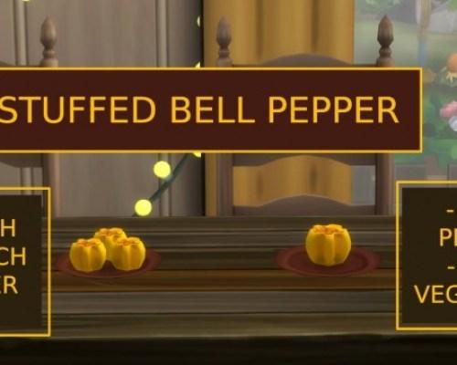 Custom Food Stuffed Pepper by icemunmun