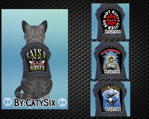 Ready to rock Cats Clothes VOL 4