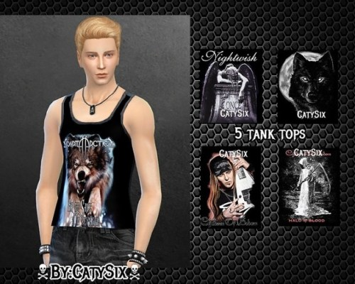 Finland's Bands Tank Tops