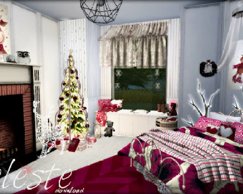 Celeste bedroom by Rissy Rawr