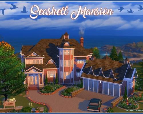Seashell Mansion by Waterwoman