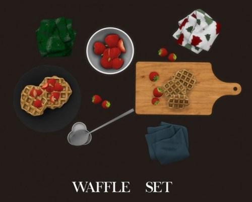 Waffle Set (P)