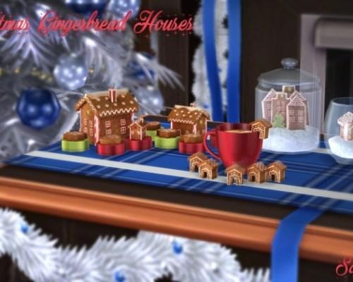 Christmas Gingerbread Houses (P)