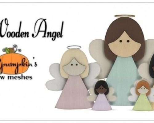 Little Wooden Angel