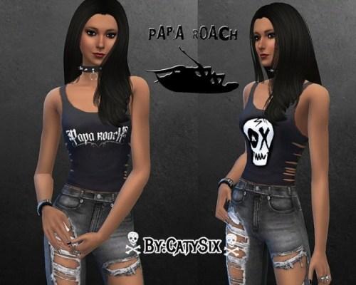3 Papa Roach Tank Tops