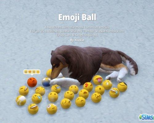 Emoji Ball by kliekie