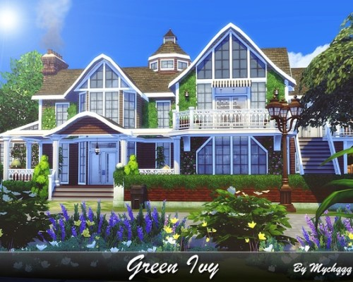 Green Ivy family house built by MychQQQ