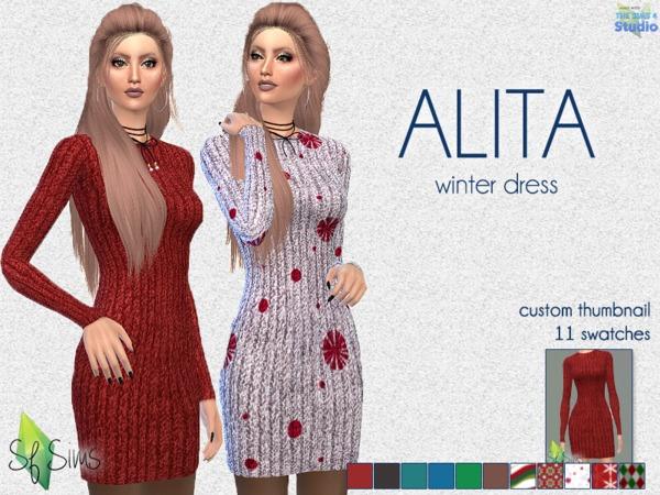 ALITA Dress By SF Sims