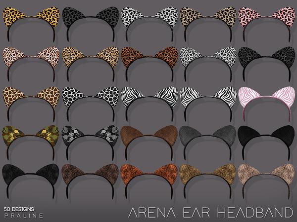 Arena Ear Headband By Pralinesims