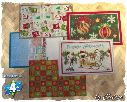 Christmas rugs by Chalipo