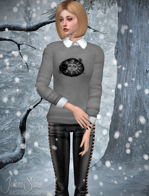 Frozen Sweater And Stockings