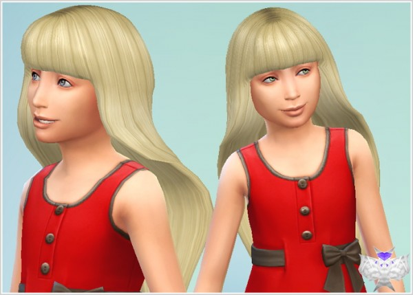 David Sims Barbie Hair For Child Sims 4 Downloads