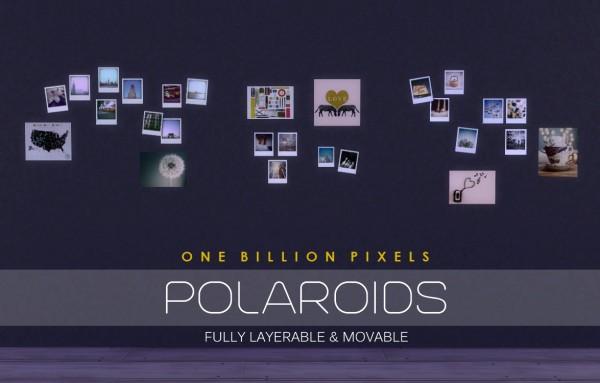 One Billion Pixels Polaroids  Torn Walls  Sims 4 Downloads