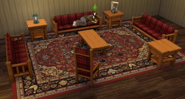 Mod The Sims The Big Lebowski Area Rugs by ironleo78