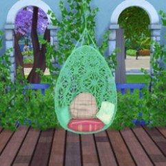 Hanging Chair The Sims 4 Best Ergonomic Desk Chairs Uk Simlife Bohemian Garden Converted From Ts3