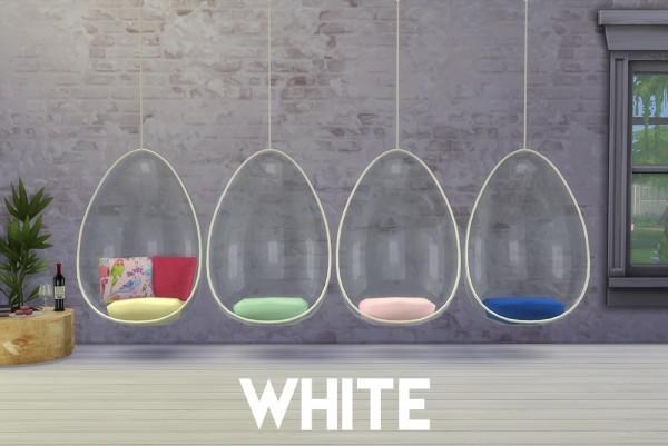 OmorfiMera Hanging Chairs  Sims 4 Downloads