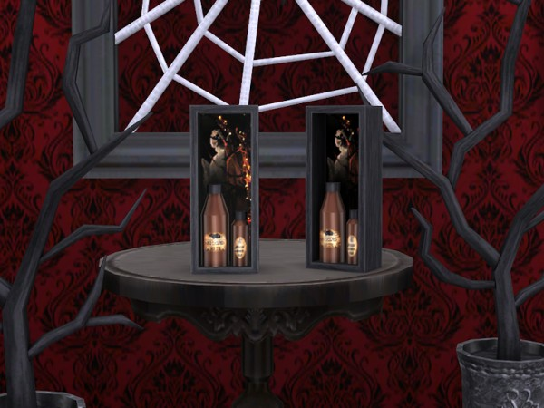 The Sims Resource Gothic Decor Set by Soloriya  Sims 4
