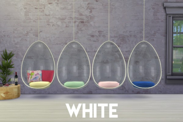 Peach and her Pan Hanging Chairs  Sims 4 Downloads